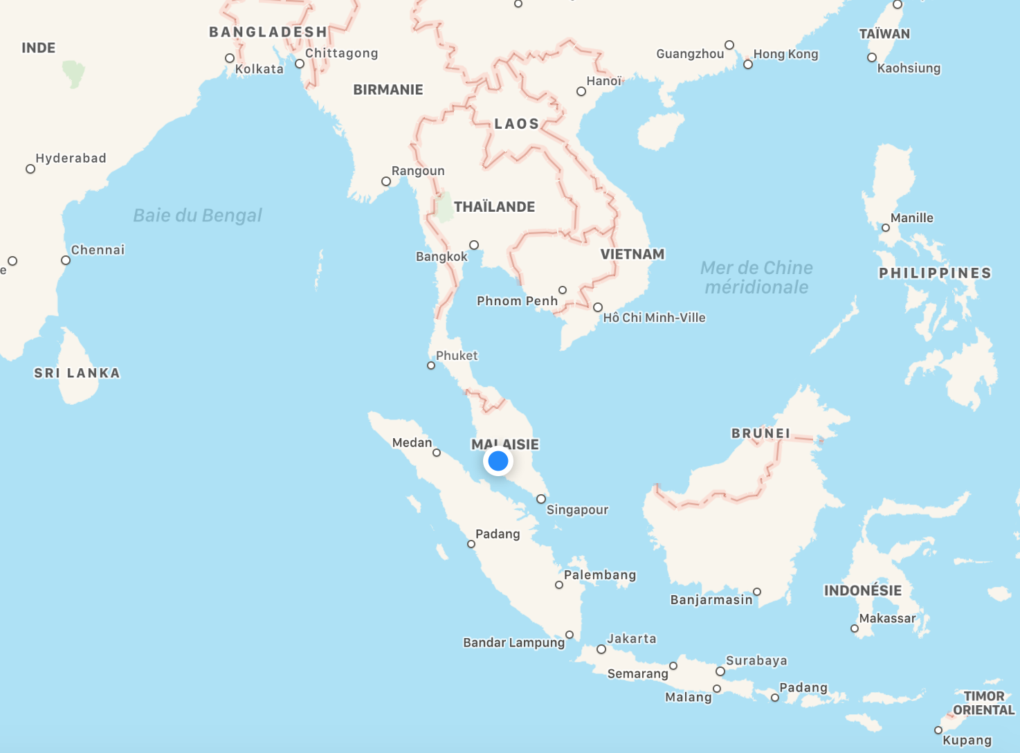 Kuala Lumpur dans le monde.