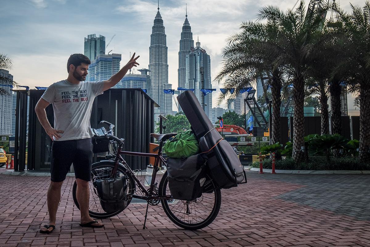 Le produit (presque) fini, à Kuala Lumpur en Malaisie.