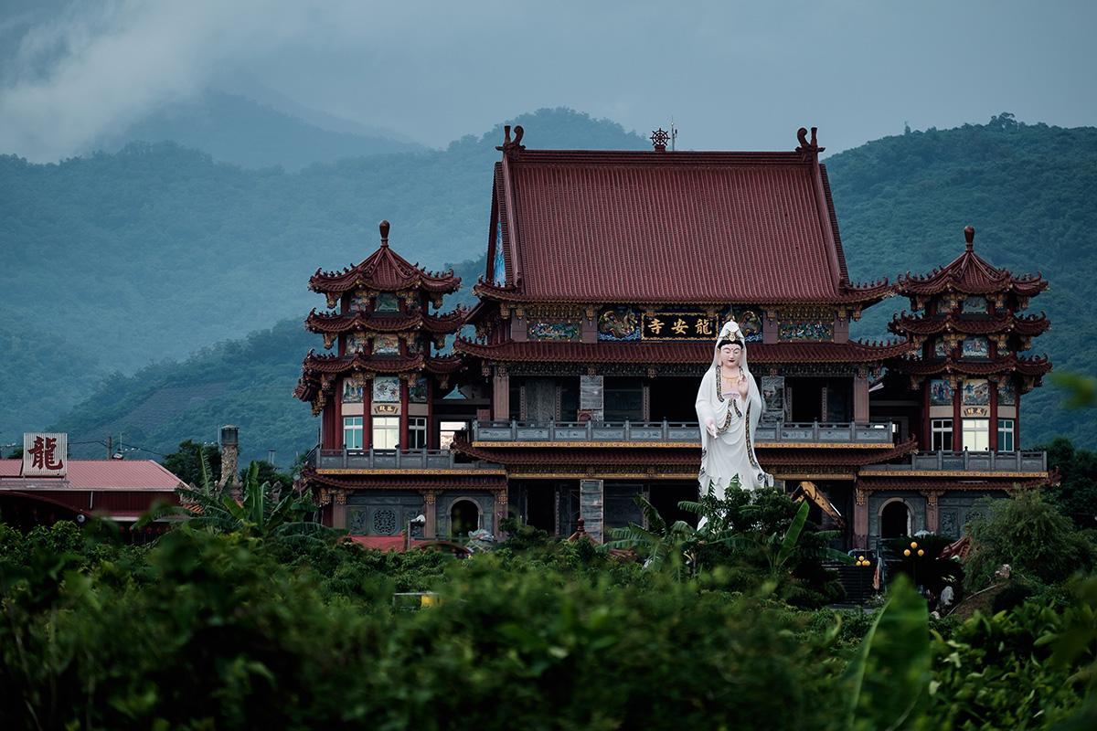 À nouveau en territoire bouddhiste.
