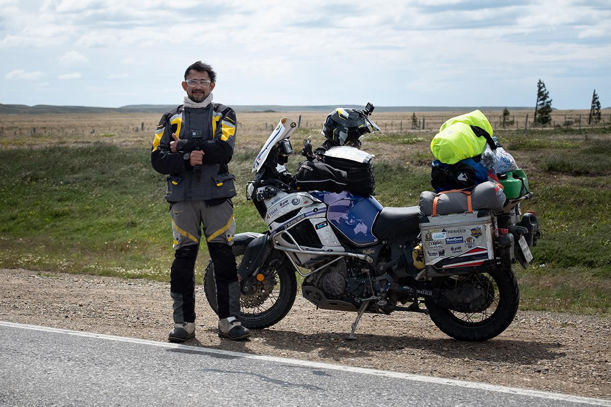 Jack, le Thaïlandais à moto autour du monde.