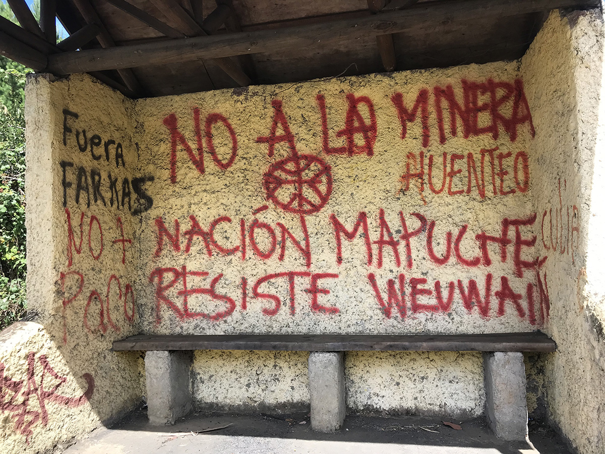 La nation mapuche résiste.
