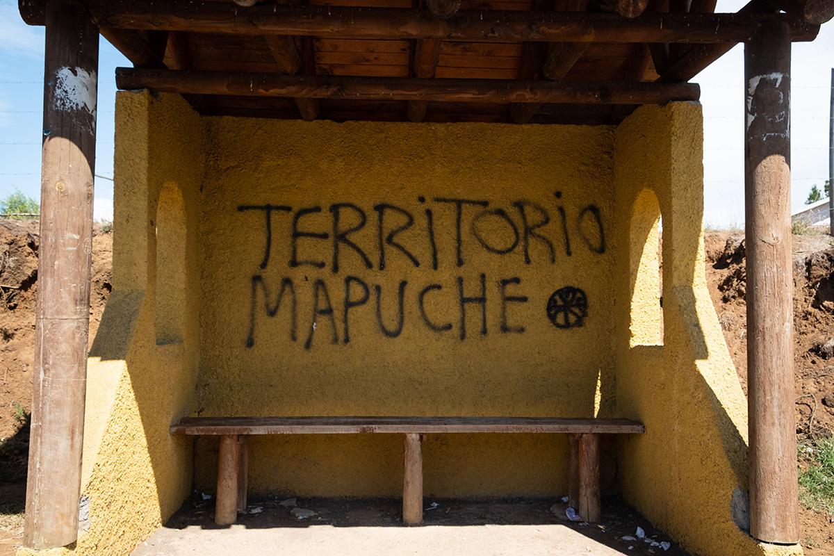 Territoire mapuche.