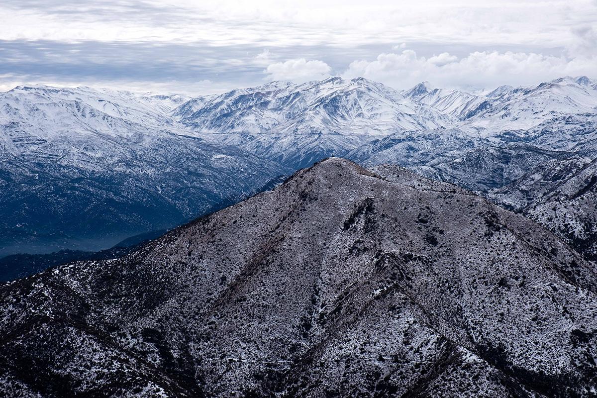 Ce n'est pas la neige qui manque en montagne.