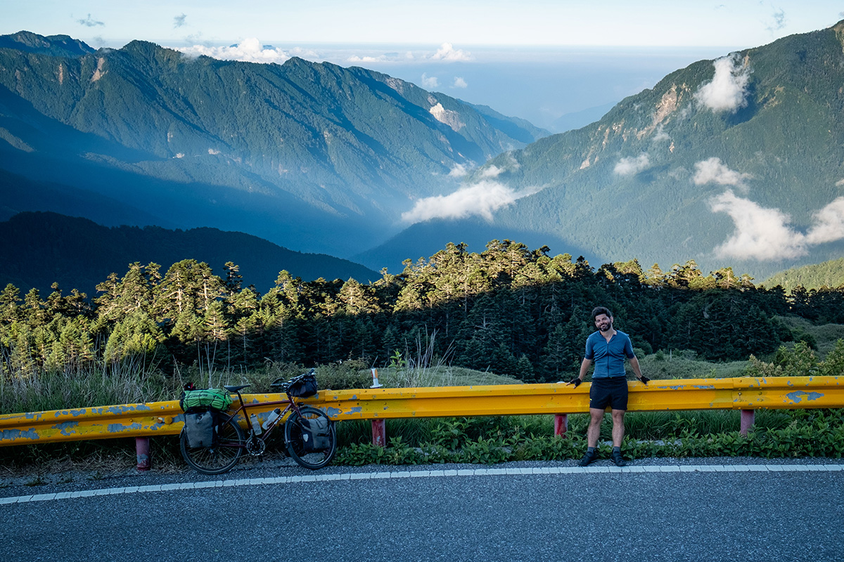 Au milieu de la belle île de Taïwan.