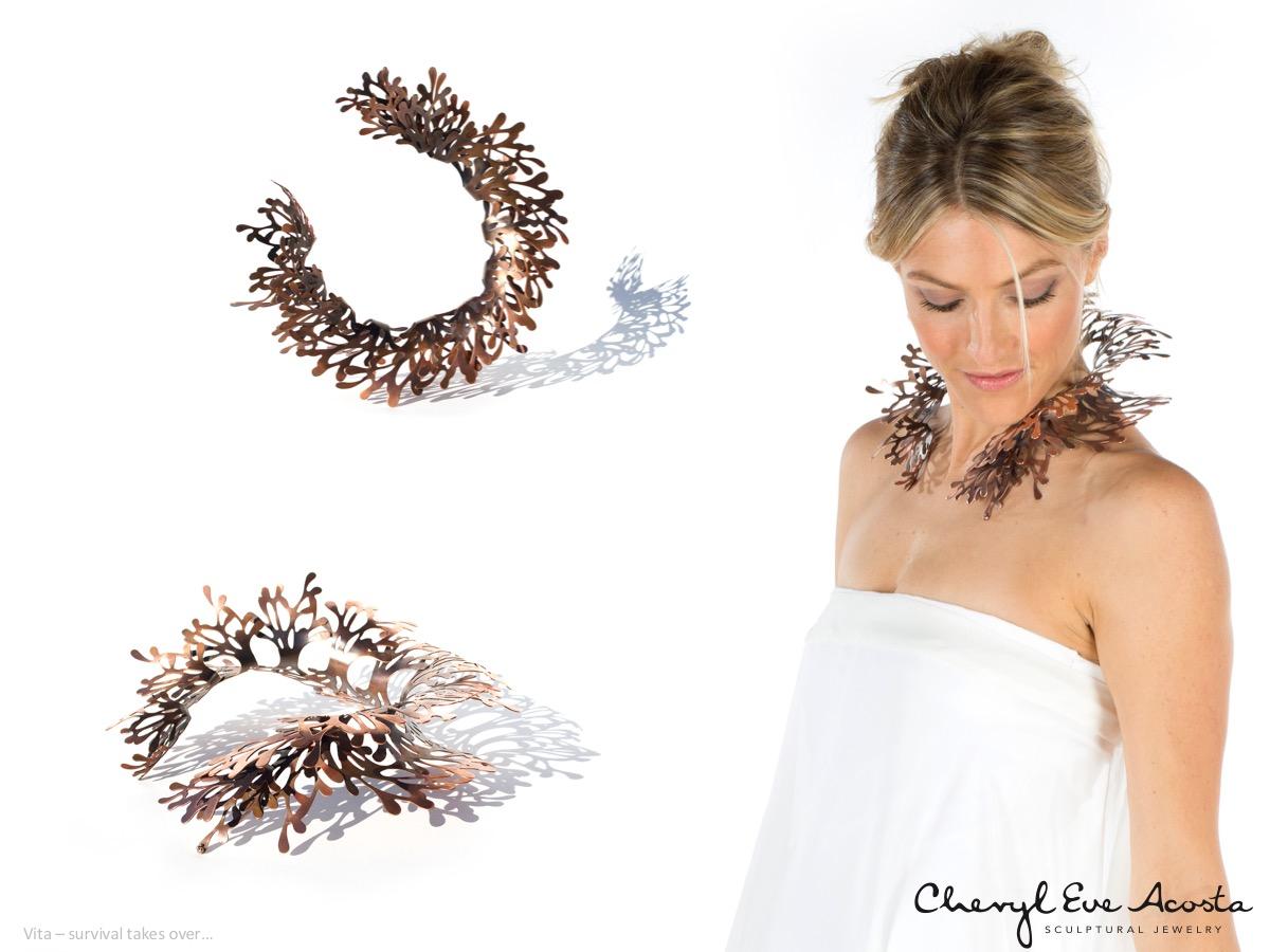 Sculptural Jewelry - Copper