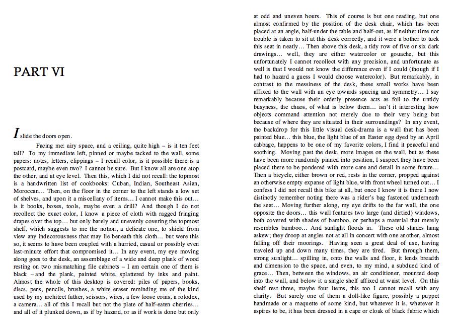 excerpt: Slide The Doors Open, 2010