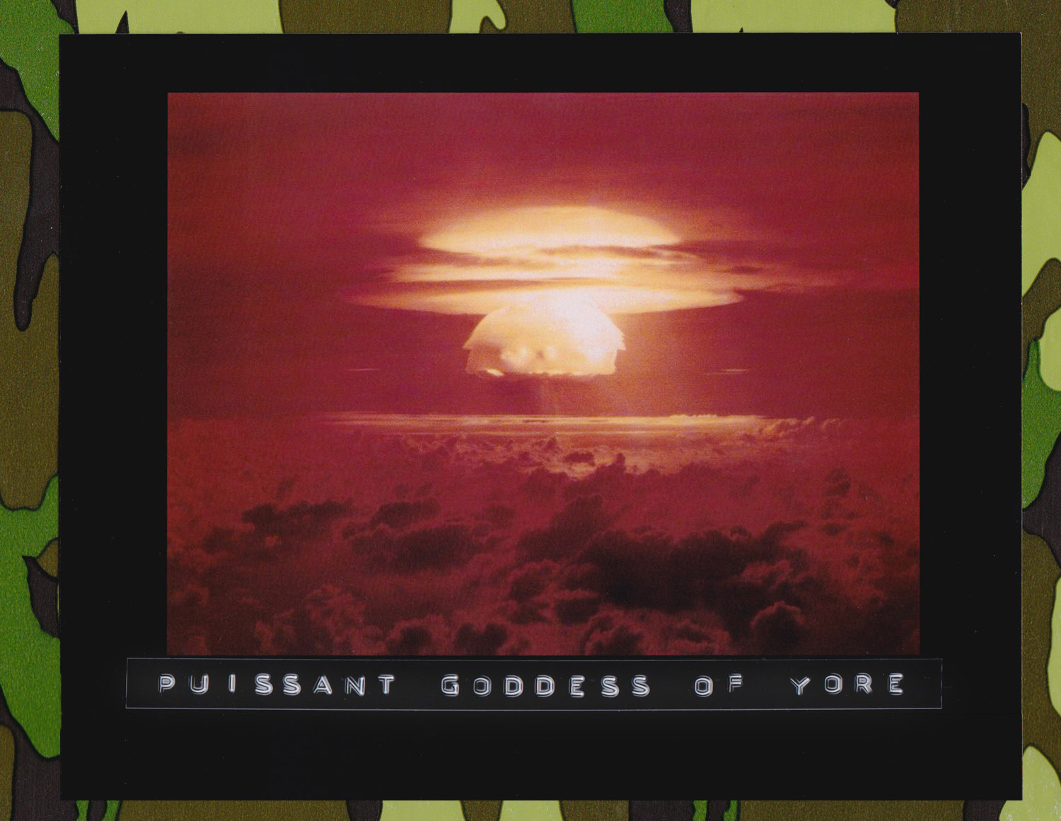 Atomic explosion, Bikini Atoll. U.S. government scientists detonated a hydrogen bomb on the tiny island on March 1, 1954. The massive explosion vaporized everything on three islands in the atoll, raised water temperatures to 55,000 degrees and left a crater that was 1.2 miles wide and 240 feet deep. (Source: United States Dept. of Energy,or predecessor organization)