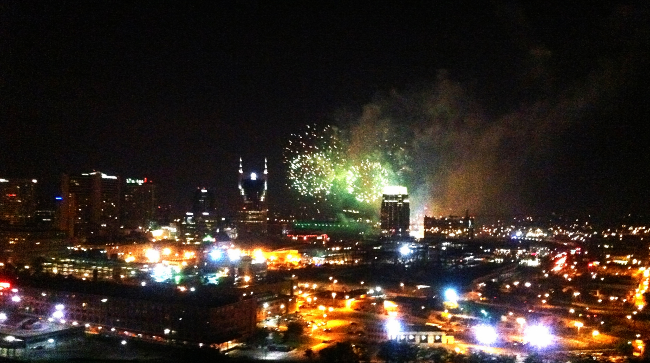 HighNoteGiftsNashvilleSkylineFireworks4thofJuly