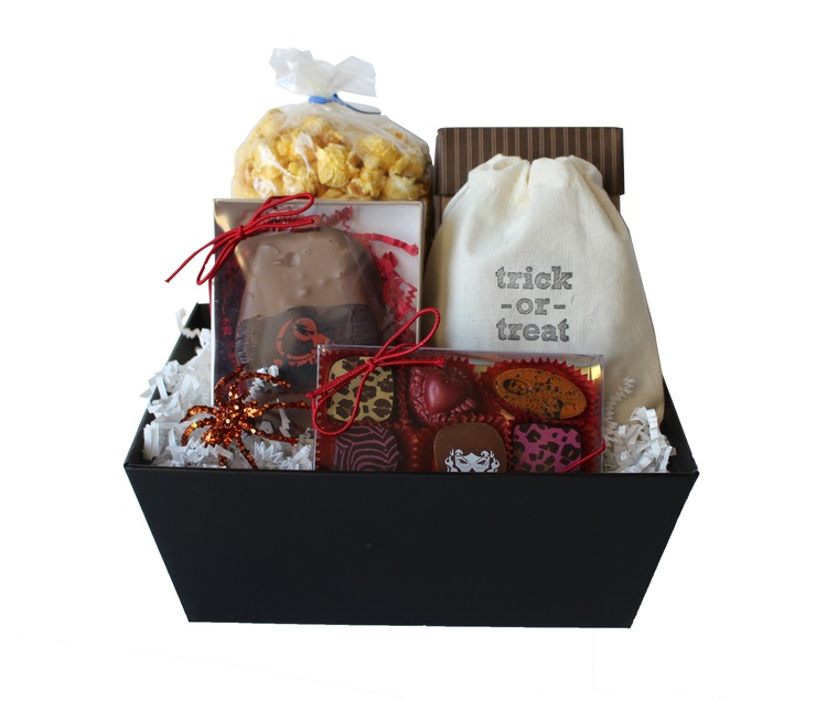 High Note Gifts Halloween Trick or Treat Gift Basket