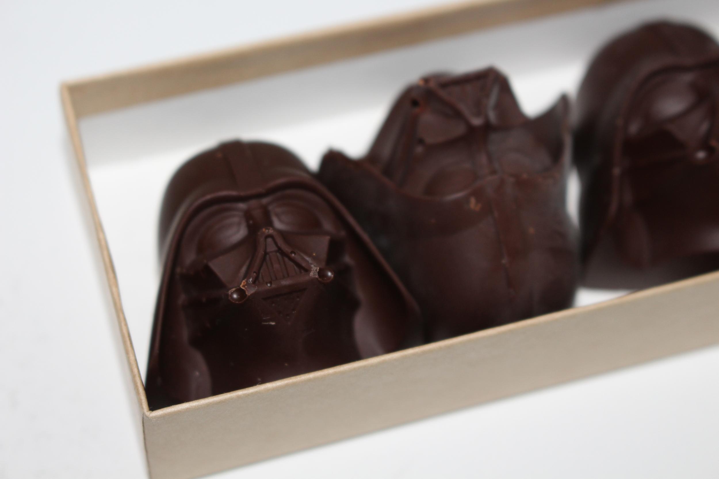 Chocolate Darth Vader Truffles