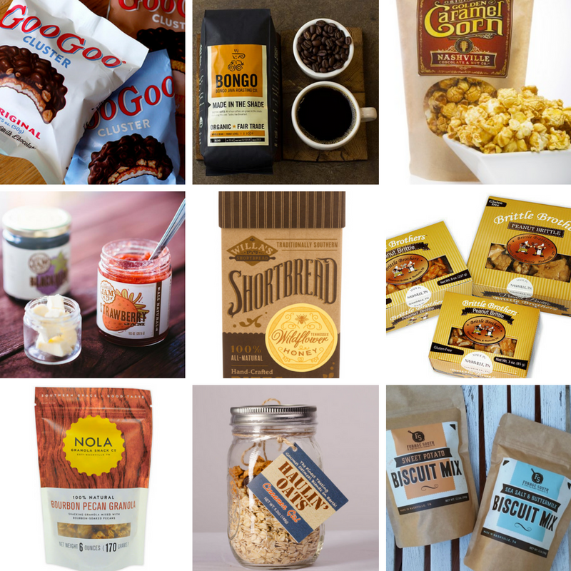 Music City Tennessee Gift Basket Items