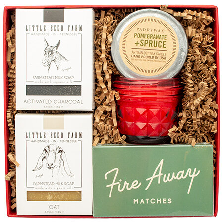 Soap & Candle Gift Set