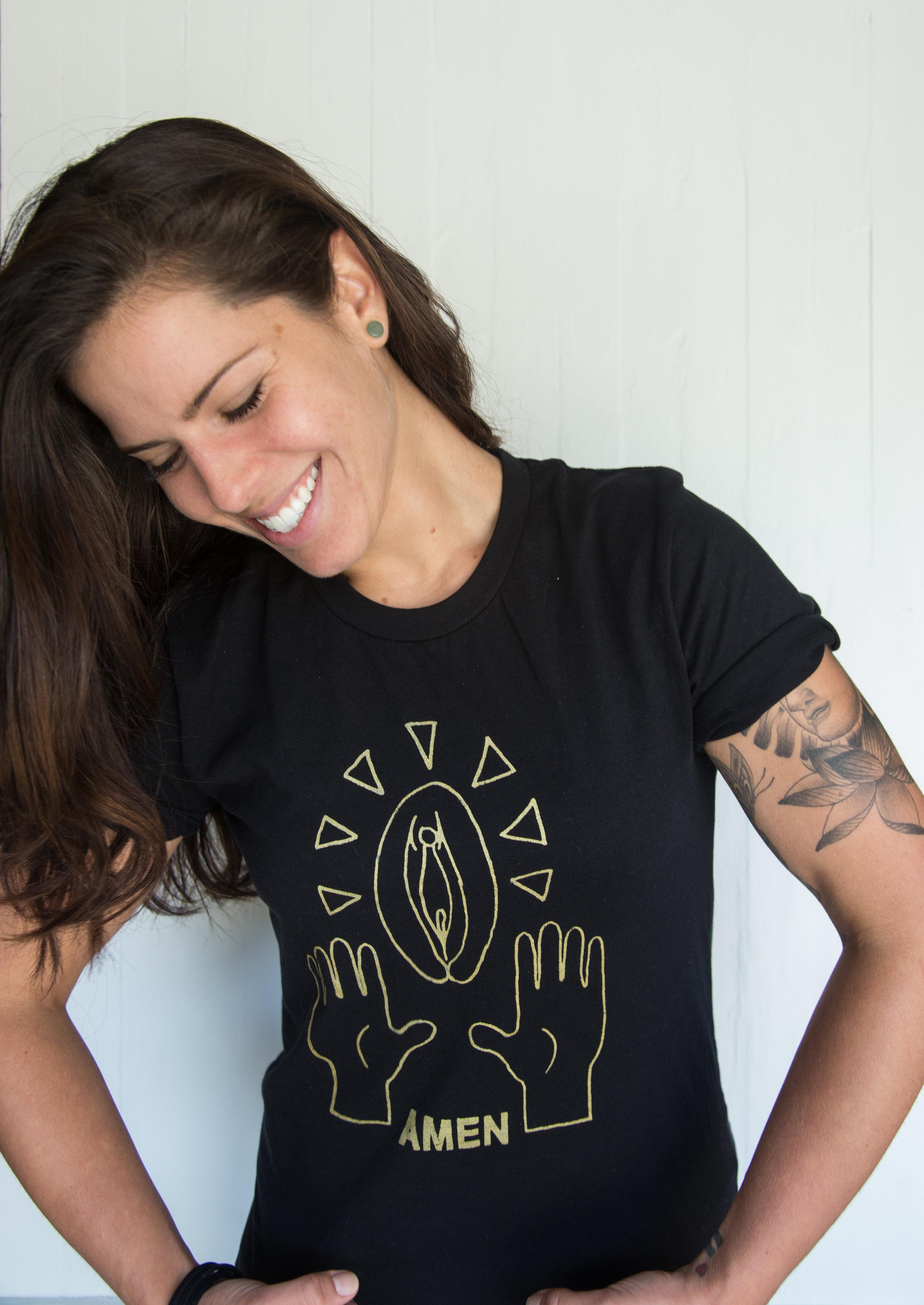 Bianca Pussy Praise shirt Gold-6.jpg