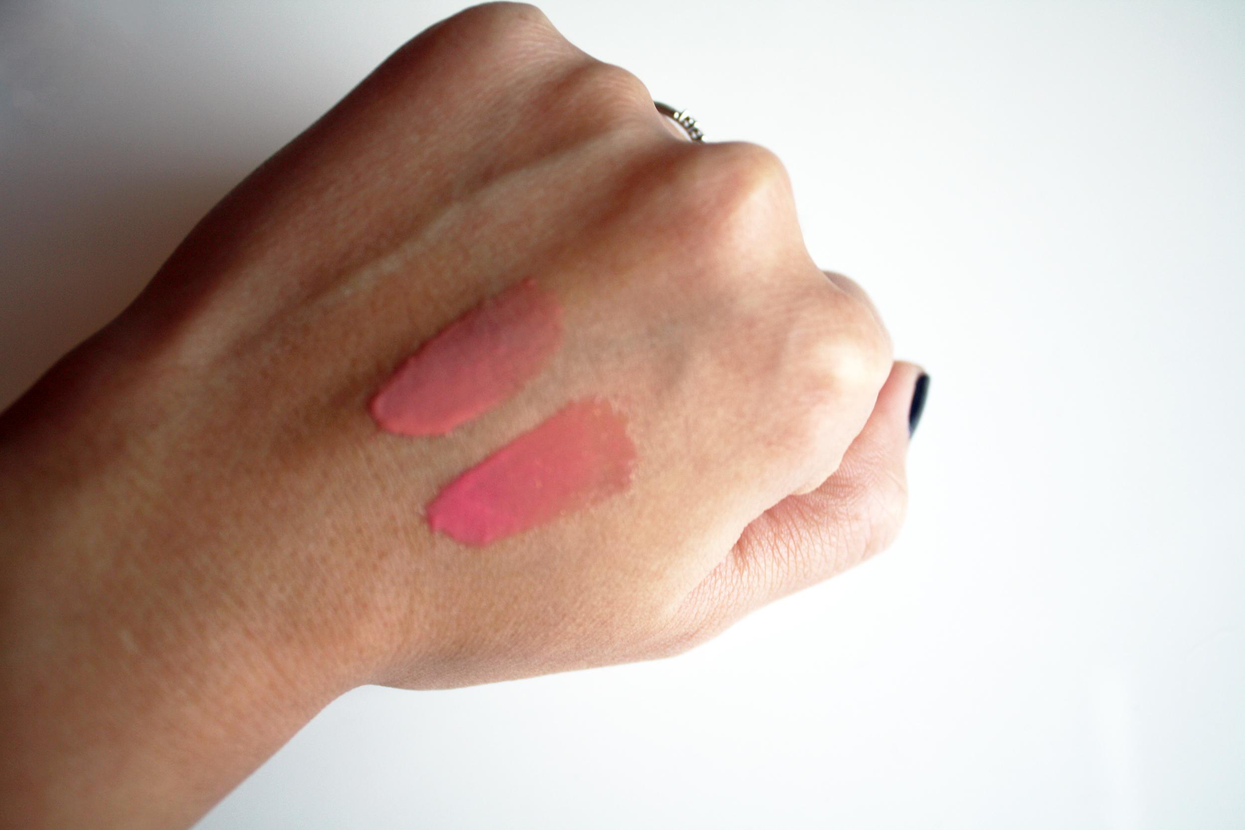 tanya burr lip gloss swatches