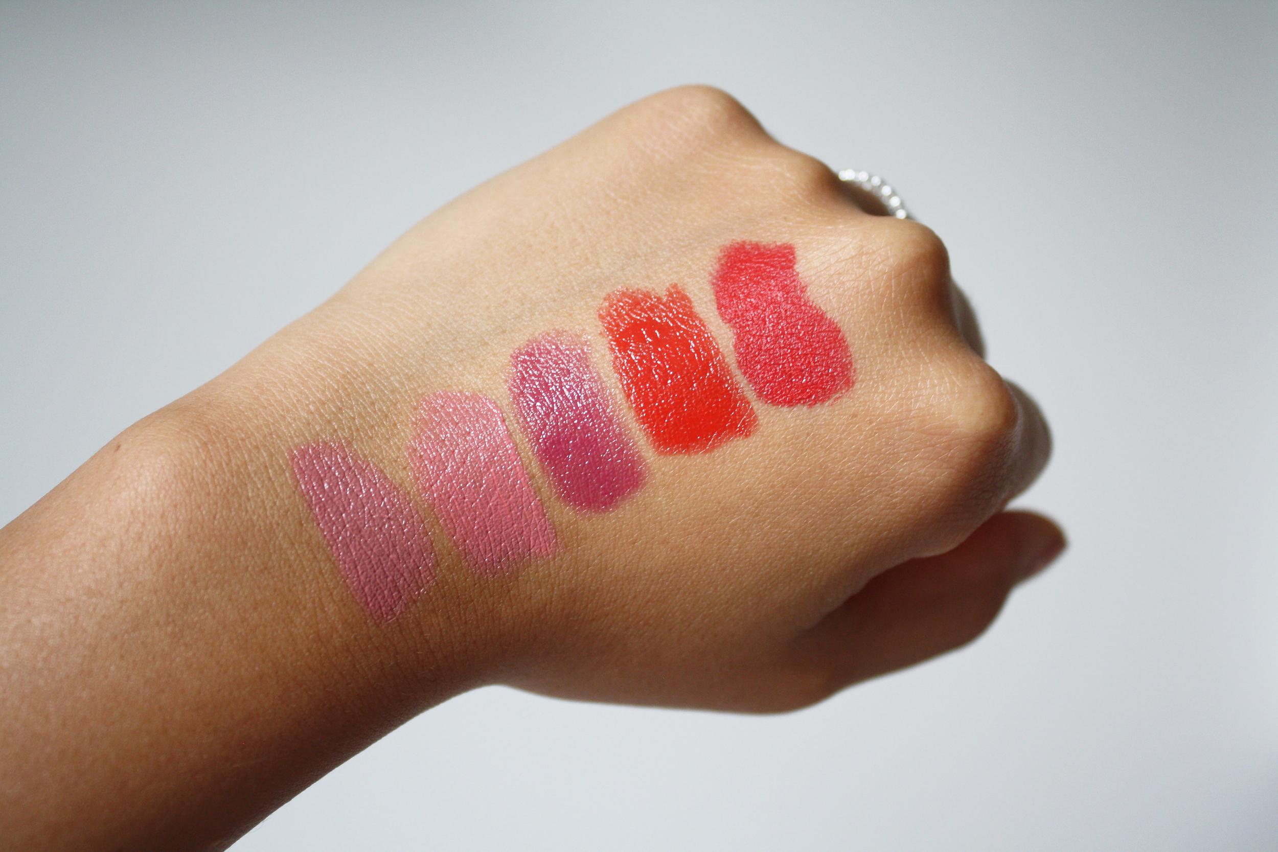 Summer Lipstick Favorites