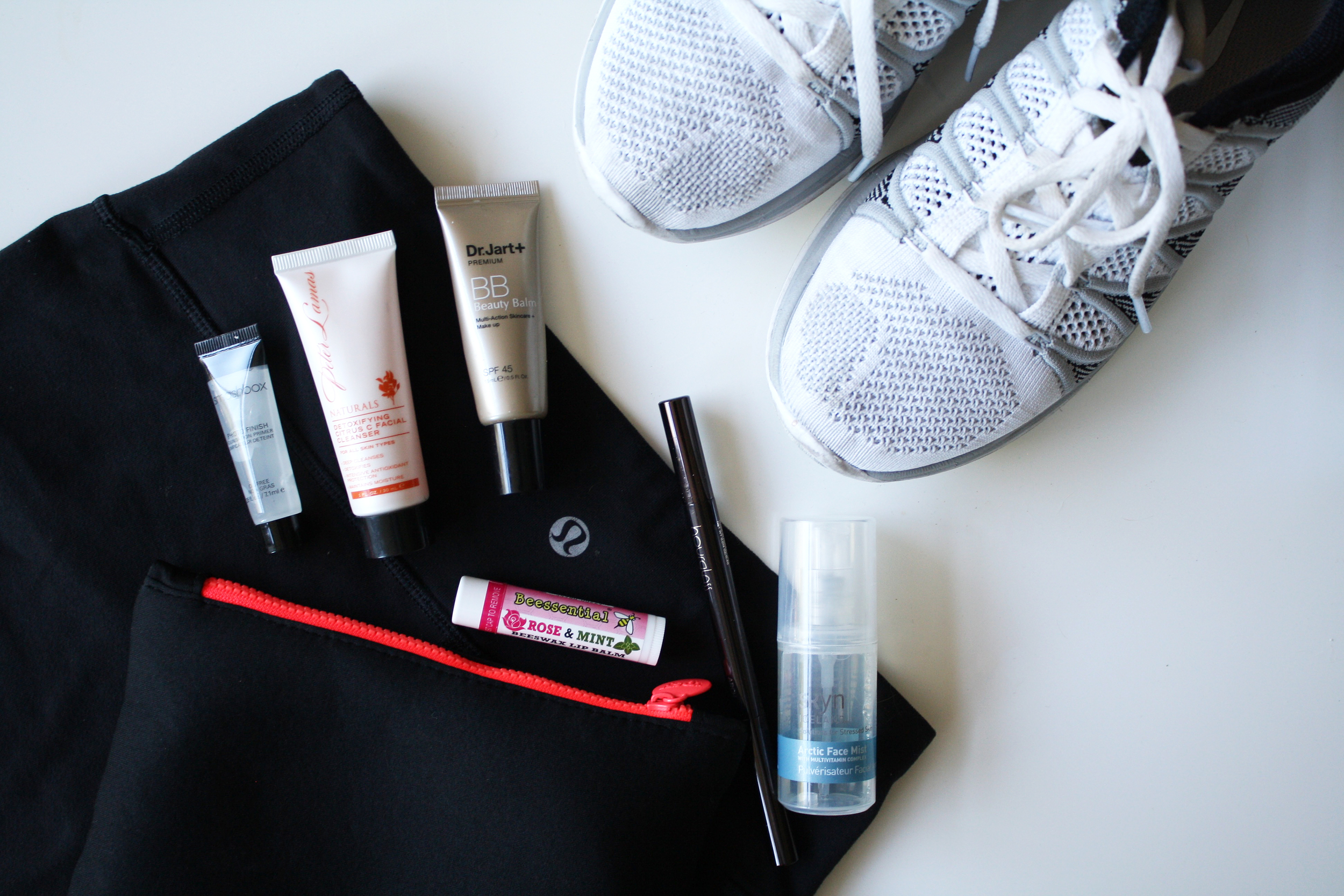 workout beauty essentials