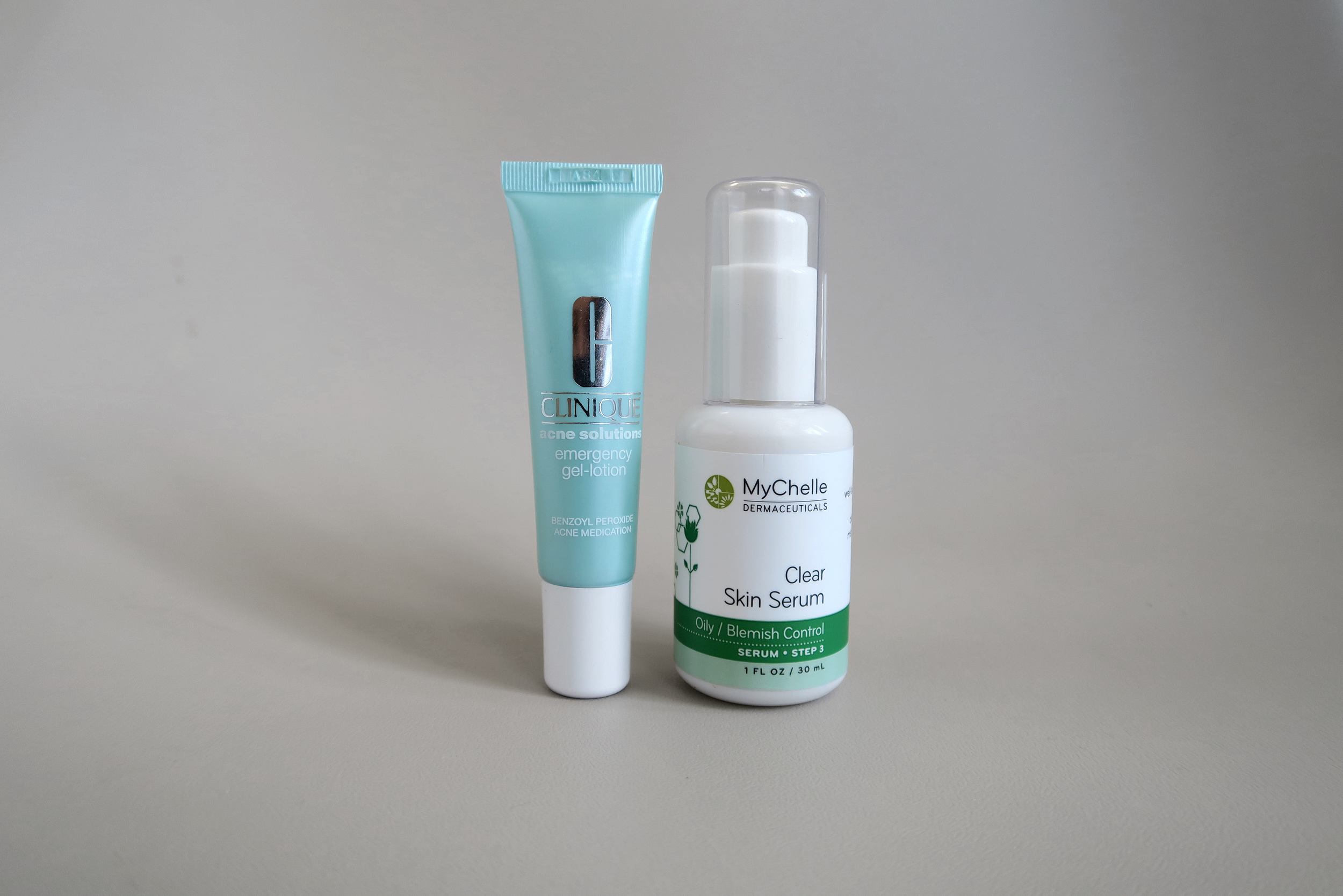 clinique emergency gel-lotion mychelle skin clear serum