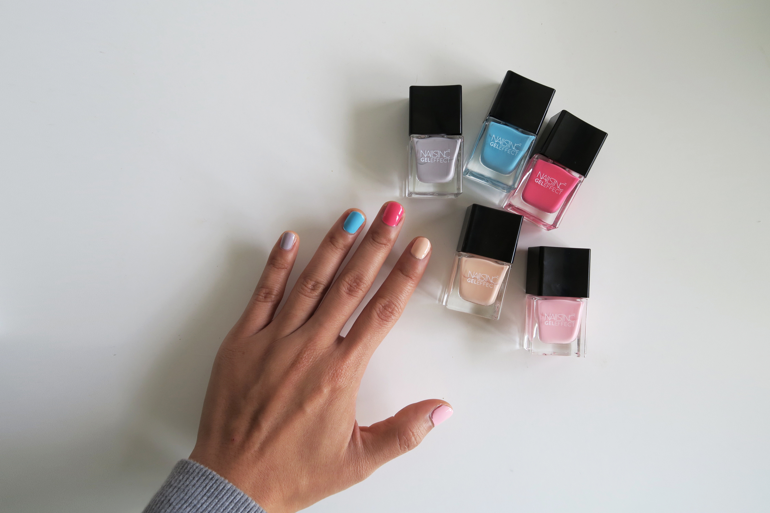 Nails Inc Gel Effect Mini Collection