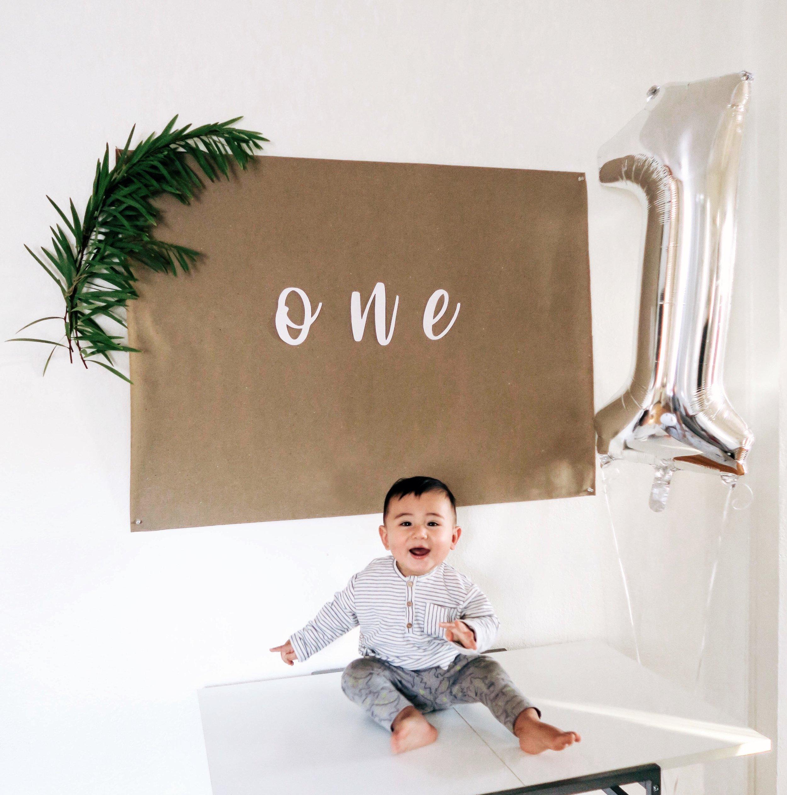 miles first birthday