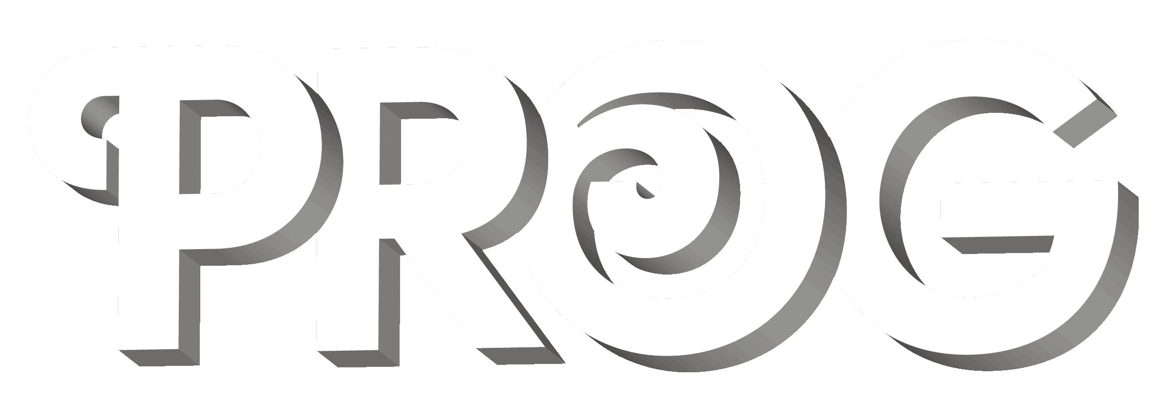 Prog Magazine logo (3D version)