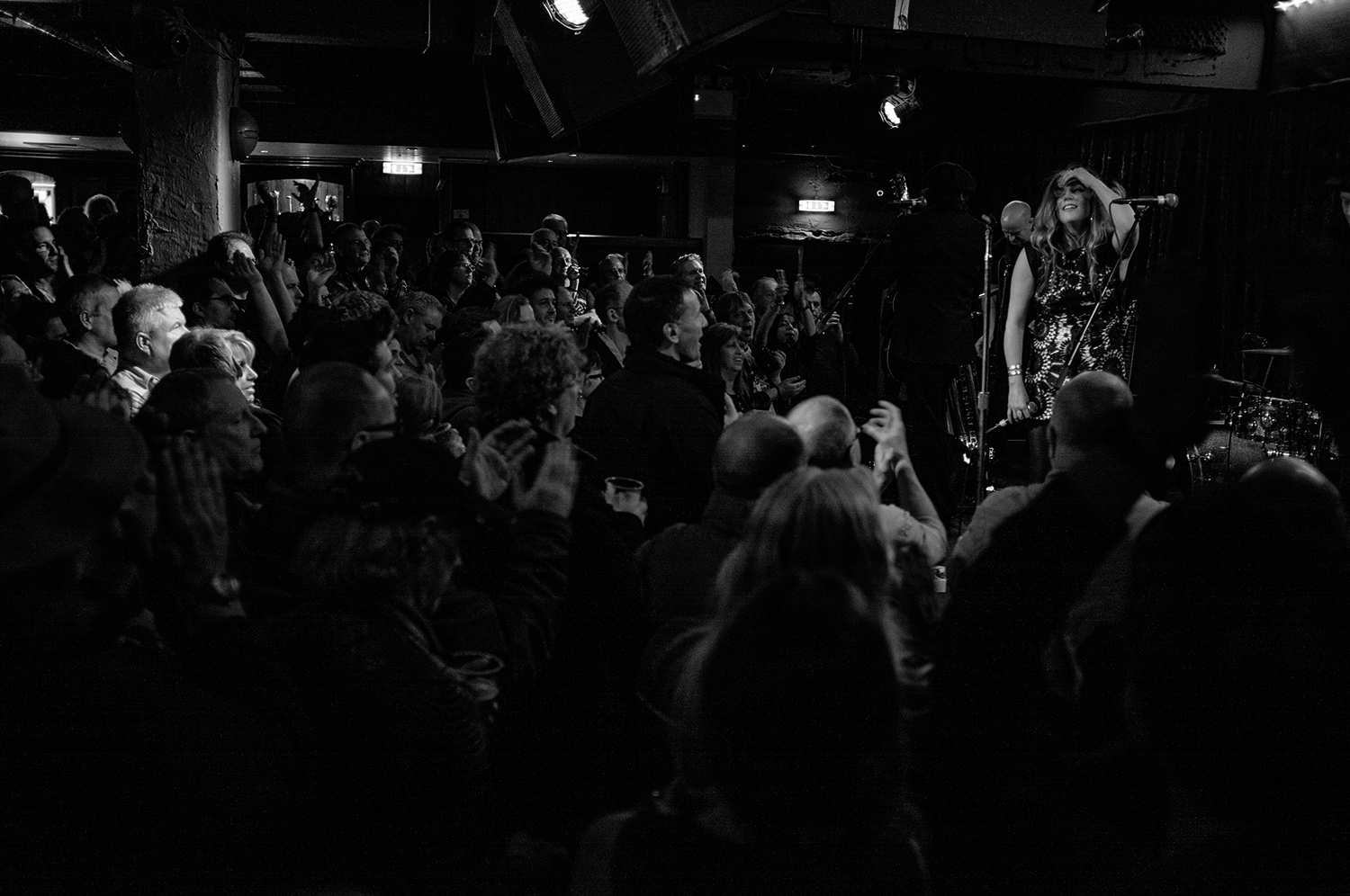 Lynne Jackaman, live at the Borderline, London.