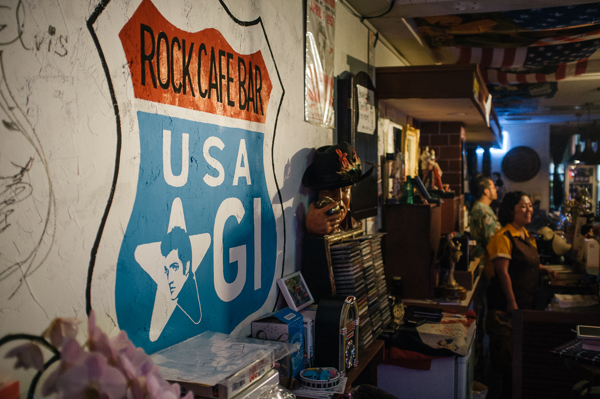 Elvis bar Dotonbori