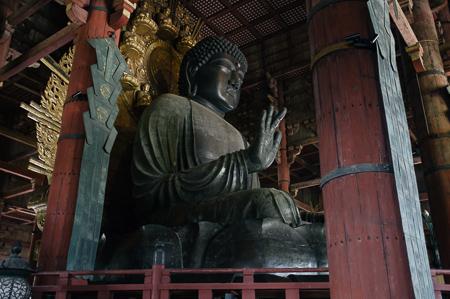 Todai-ji Buddha, weighs 500 tonnes