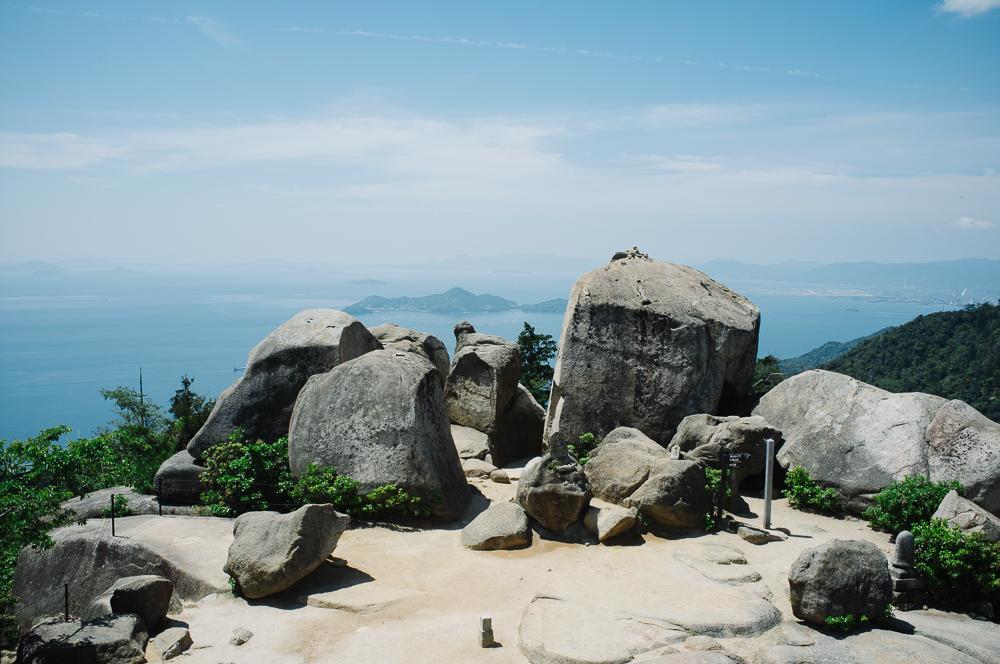 The Summit of Mt Misen.