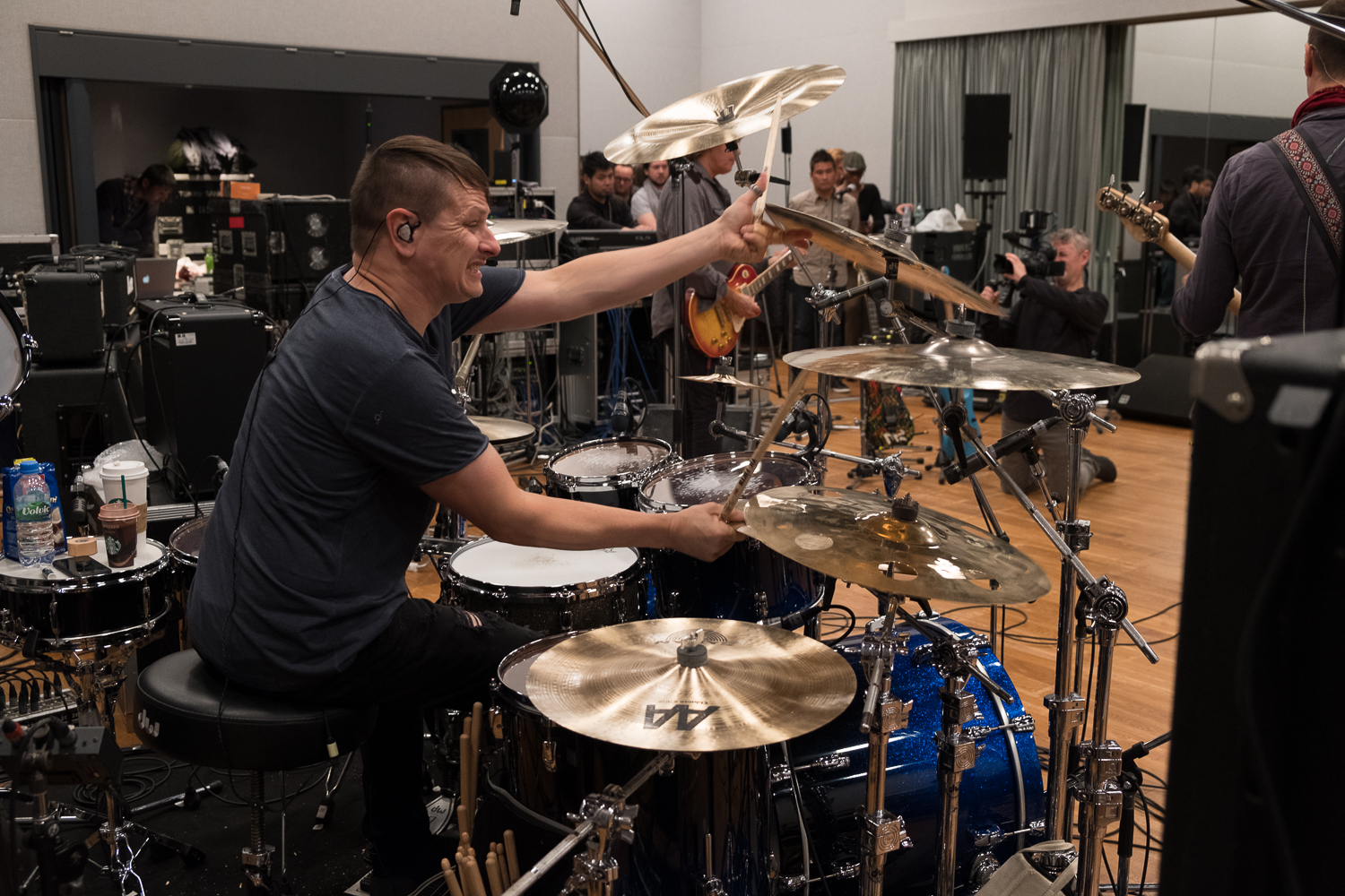 Ray Luzier, Rehearsals for the Japan Classic Rock Awards
