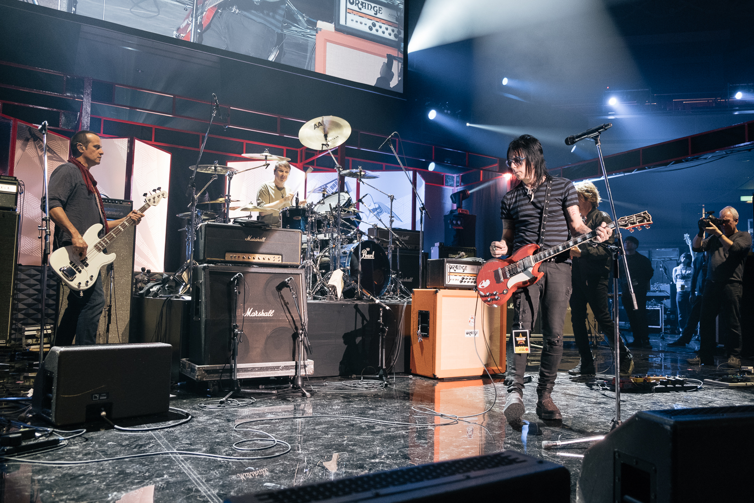 The house band Soundcheck,Japan Classic Rock Awards