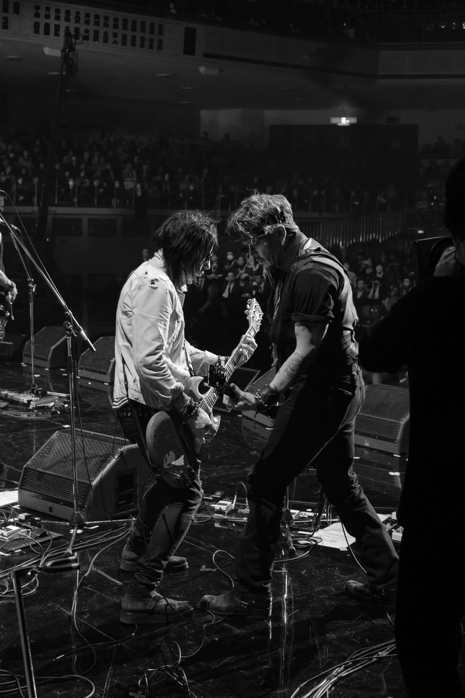 Depp and Henriksen , Japan Classic Rock Awards