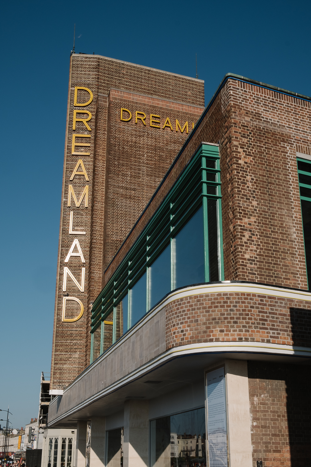 Fully restored cinema on the seafront