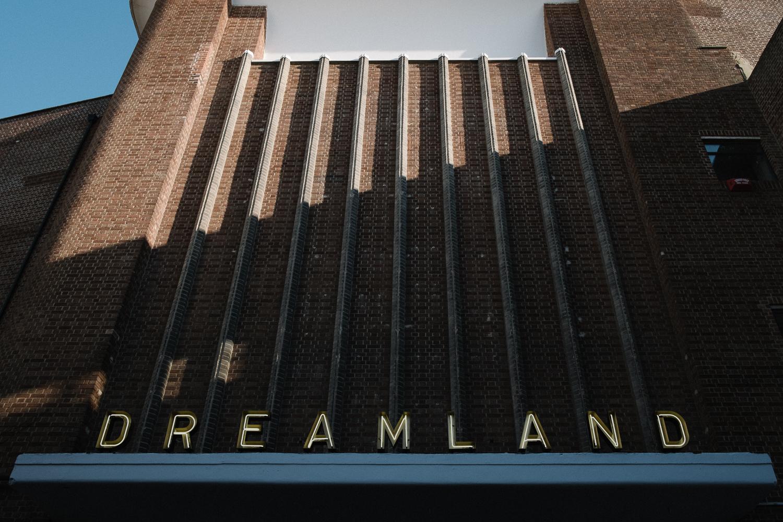 Art Deco front entrance