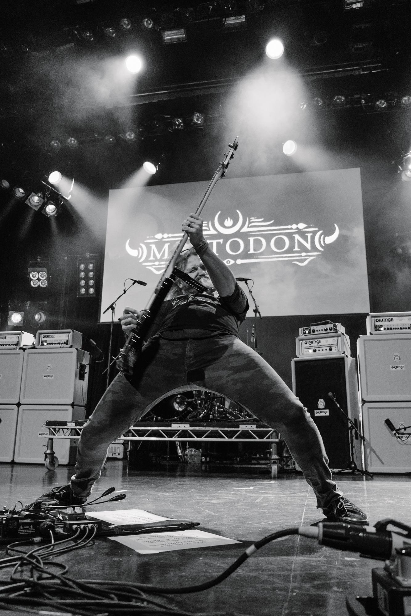 Mastodon at the Metal Hammer Golden Gods 2017