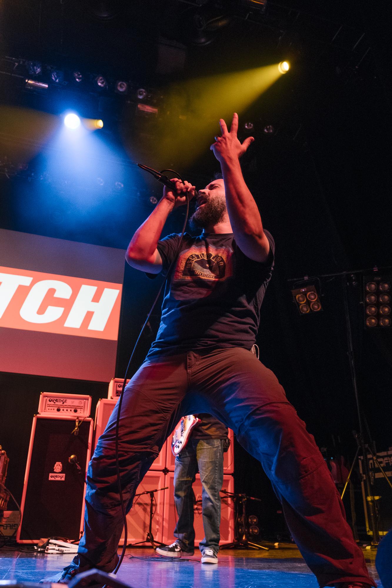 Clutch at the Metal Hammer Golden Gods 2017