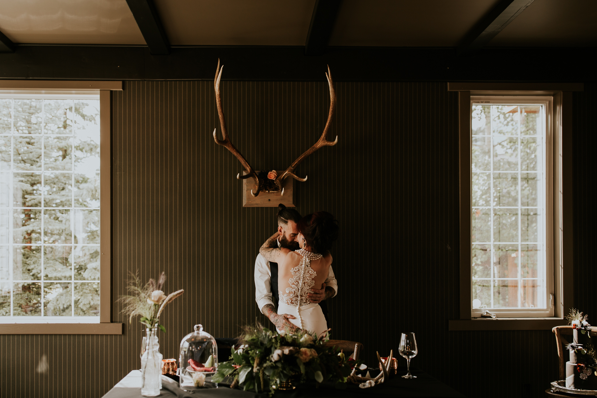 alberta mountain wedding photographer