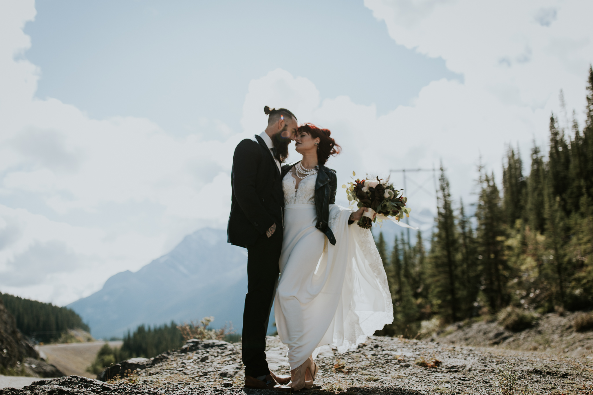 canmore mountain wedding photographer