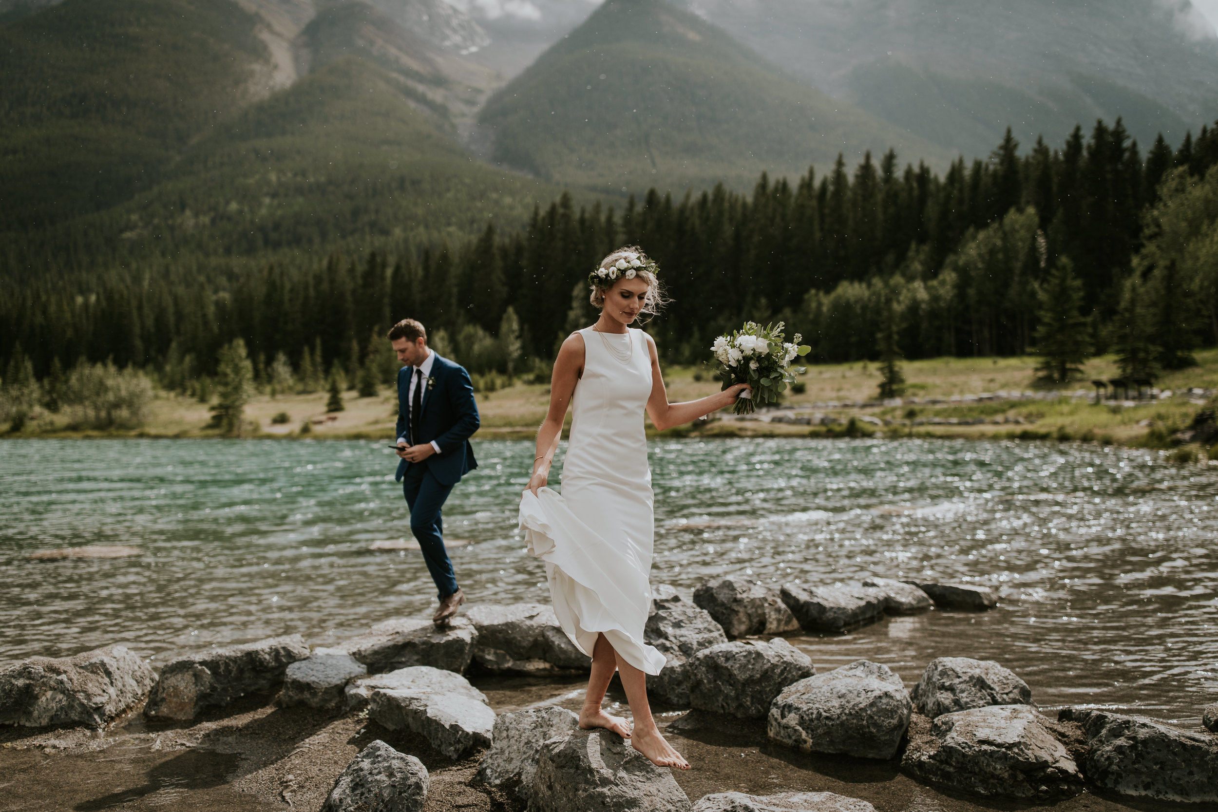 Intimate Wedding Photographer Banff