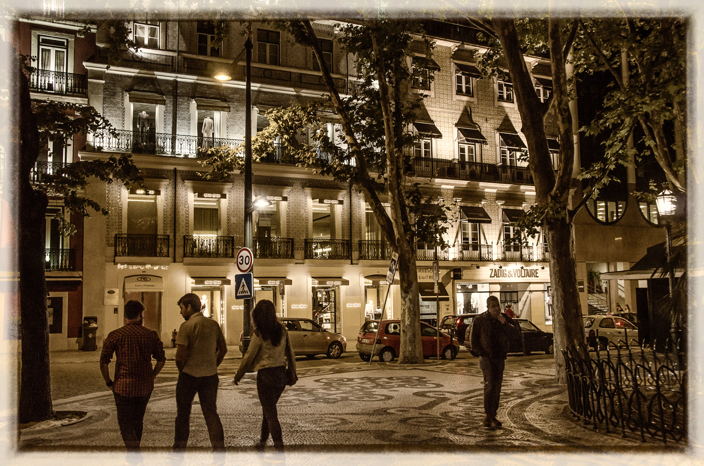 Avenida da Liberdade at Night