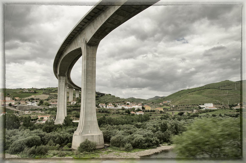 Bridge Over the Douro River at Peso da Régua