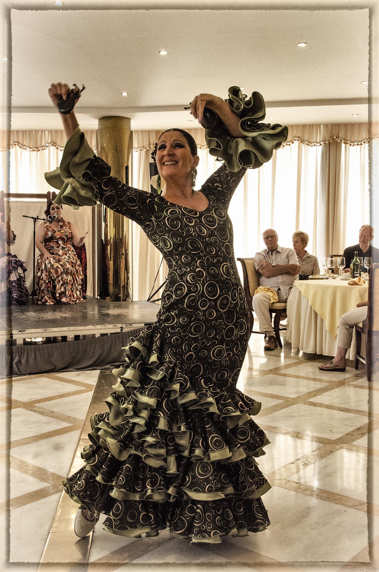 Flamenco Dancer, Salamanca