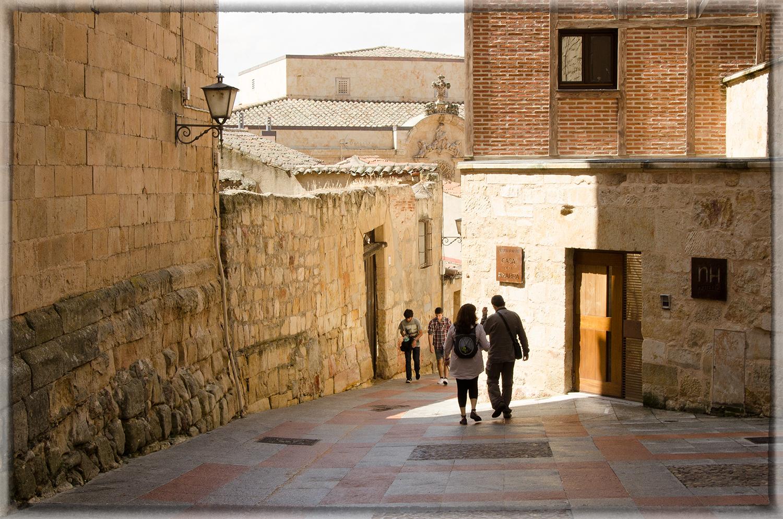 Salamanca's Golden Walls