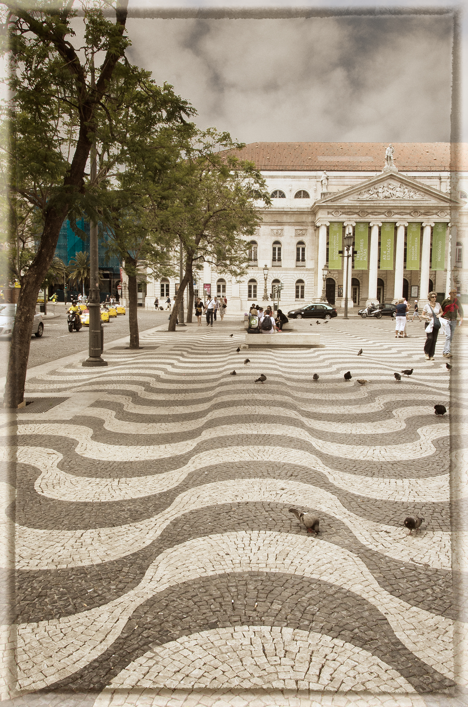 Mosaic Pavement at Rossi Square