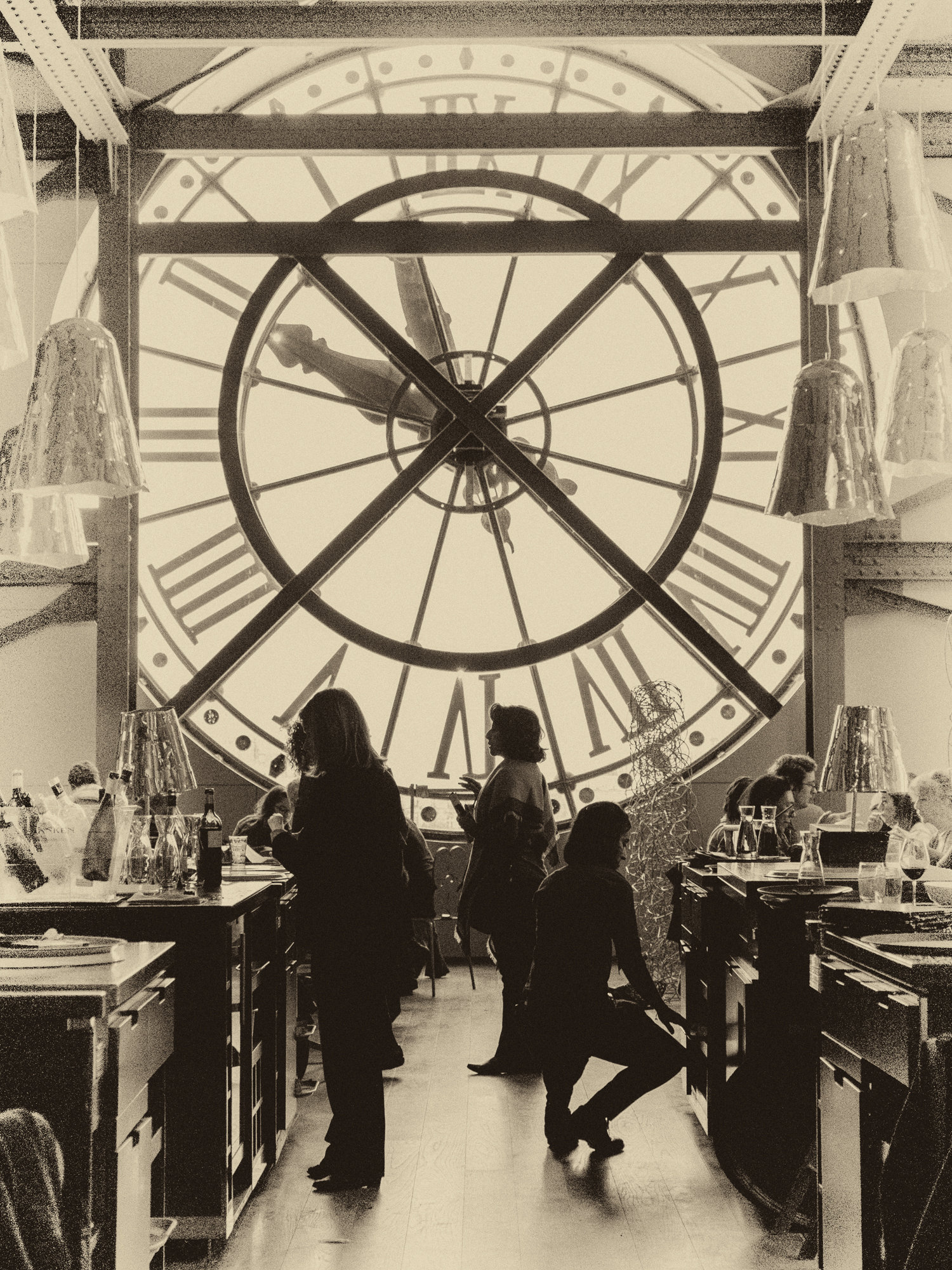 Clock Tower in the d'Orsay