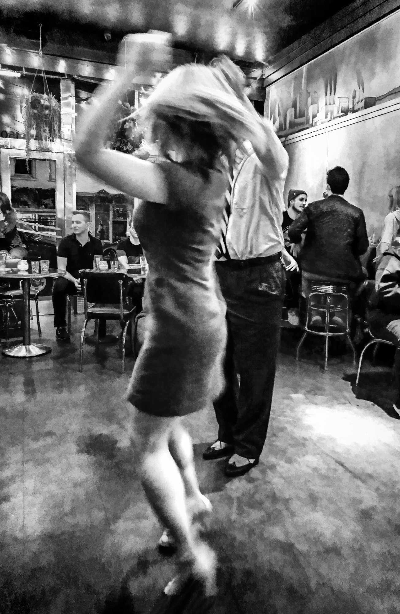 Swing Dancing at Club Deluxe