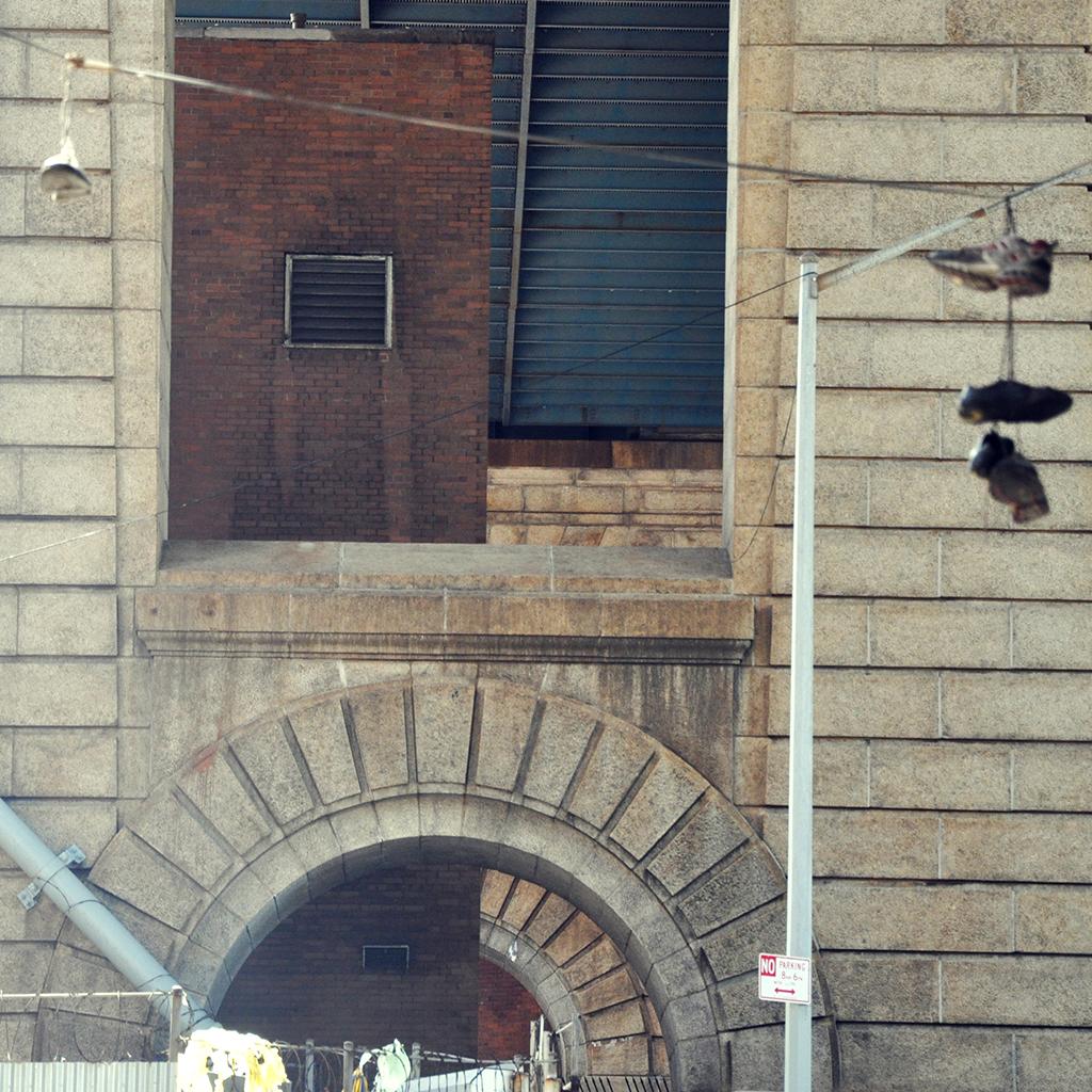 This is a photograph I took in D.U.M.B.O., New York. It stands for Down Under the Manhattan Bridge Overpass.