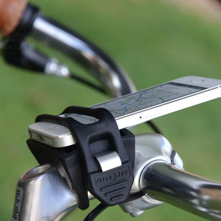handleband smart phone holder for bike