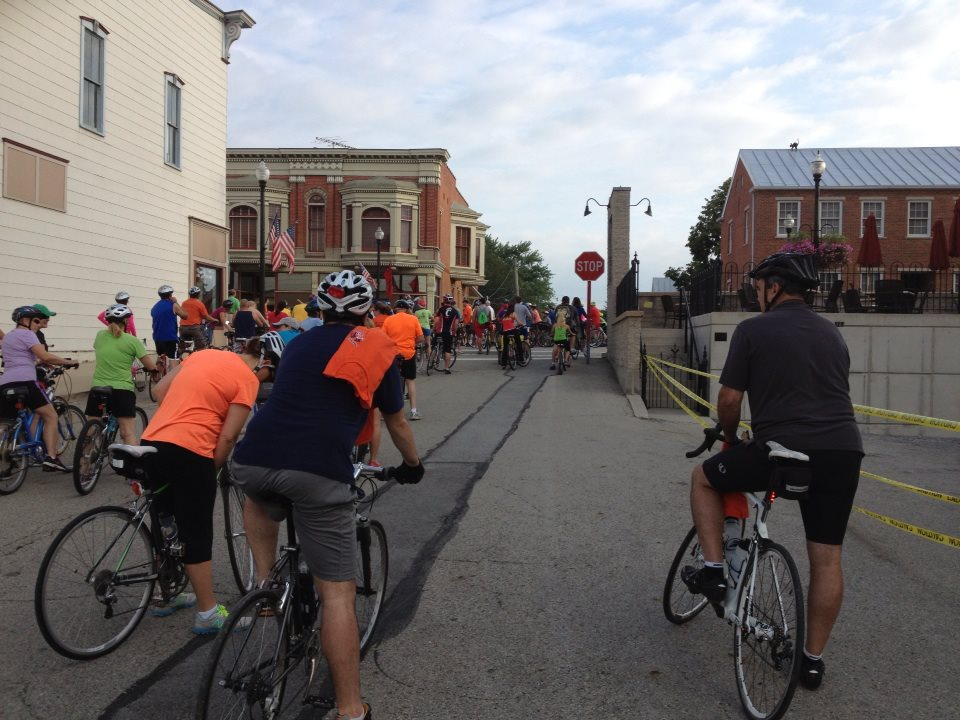 Bremenfest Bike Ride 2013 in New Bremen, OH