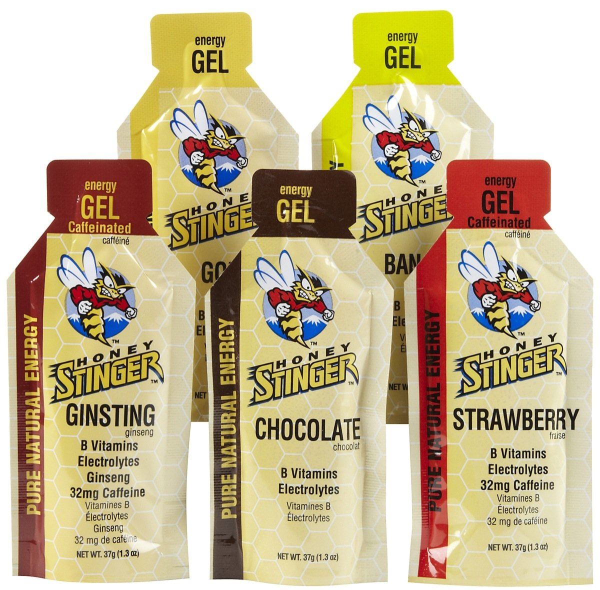 Honey Stinger Gel chocolate and ginsting review