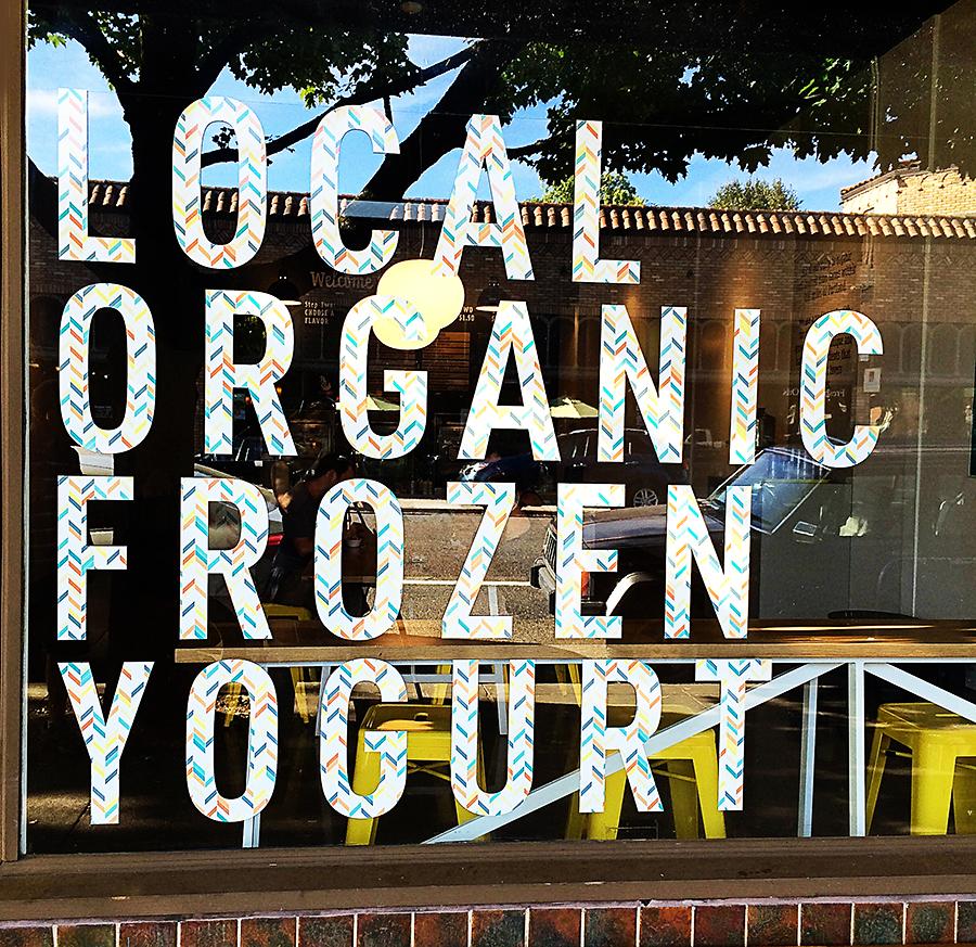 Eb & Bean Frozen Yogurt in Portland, Oregon |  Read Our Maker Profile of Eb & Bean's Elizabeth Nathan  | Photograph © Cheryl Sternman Rule
